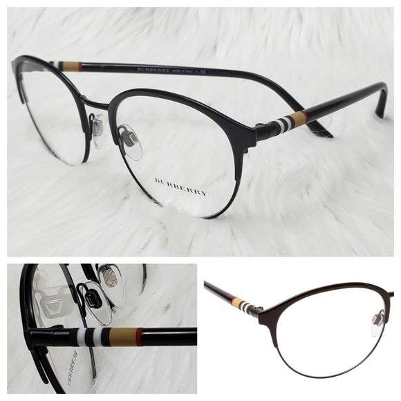 53f87d2fe827 Burberry Rx New Eyeglasses black